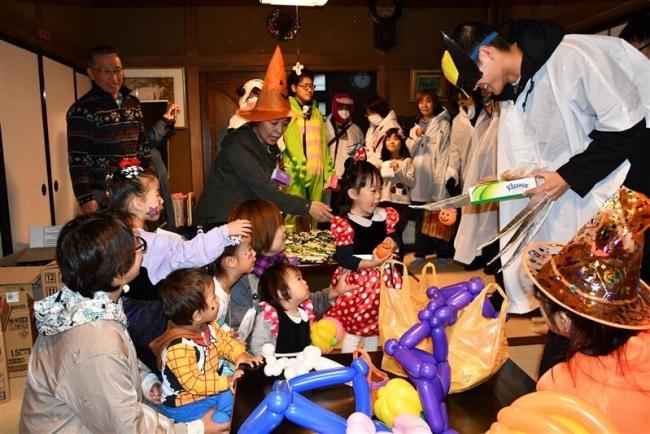 子どもたちが歓声 帯広で2つのハロウィーンイベント