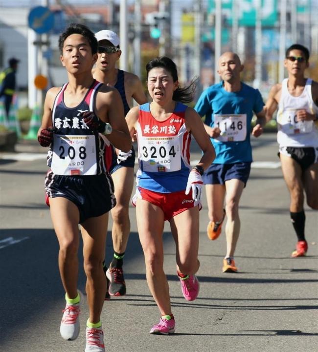 女子ハーフ三橋総合V、フードバレーとかちマラソン