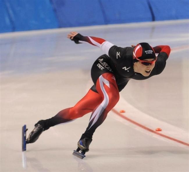 榊原2種目トップタイム 十勝オーバルスケート競技会