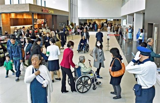 帯広厚生病院の新病院が開業 道東の拠点病院目指す
