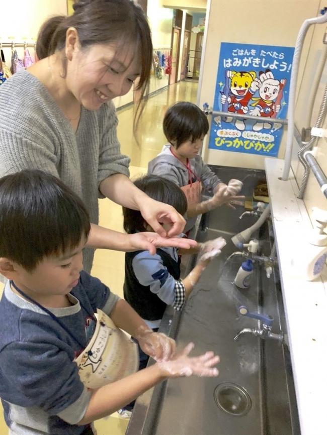 食品衛生協広尾支部が手洗い教室 広尾