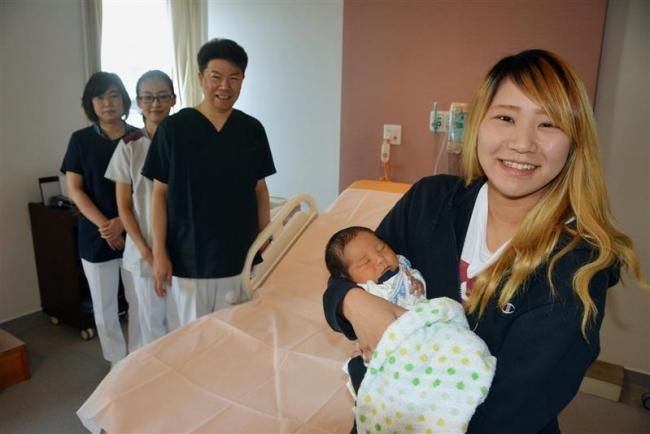 第1号の赤ちゃんすくすく 新厚生病院