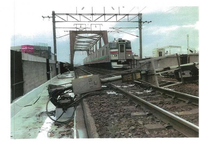 JR新札幌駅構内で信号機倒れる 重大インシデントとして調査へ