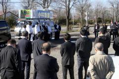 小林氏が第一声 無投票当選の公算大 士幌町長選 5