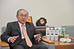 停電時でも受け入れ体制 よつ葉乳業有田社長インタビュー