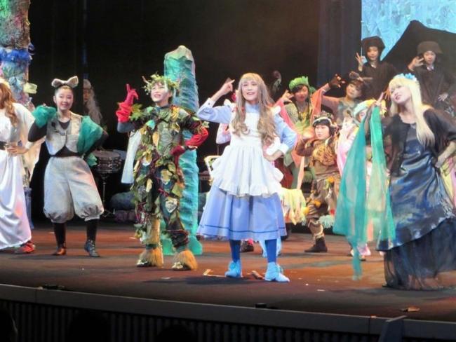 帯広児童劇団が第33回公演 5年ぶり「グリーン」を熱演