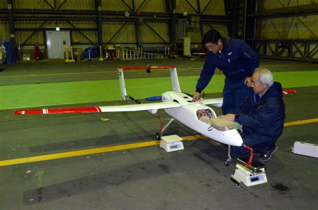 JAXAが小型無人機の飛行安全技術実験 大樹