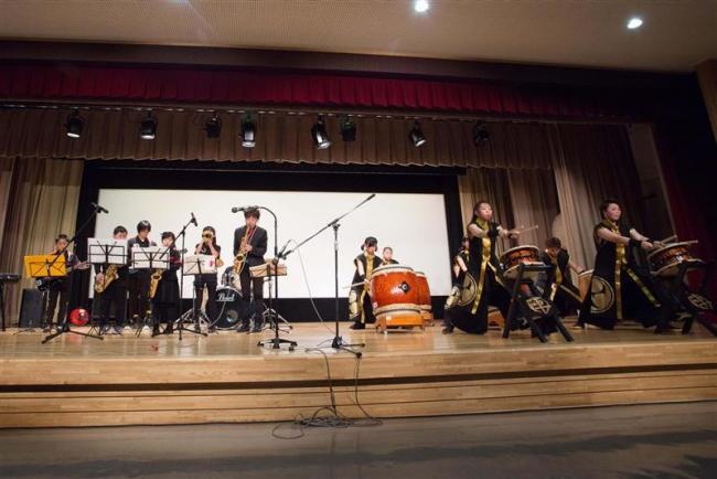 陣屋太鼓とジャズスクールが初コラボ 広尾