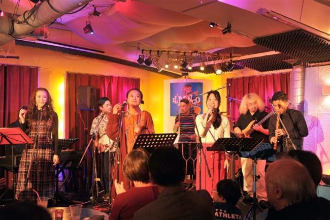 帯広の加藤さん所属民謡バンドが札幌でライブ
