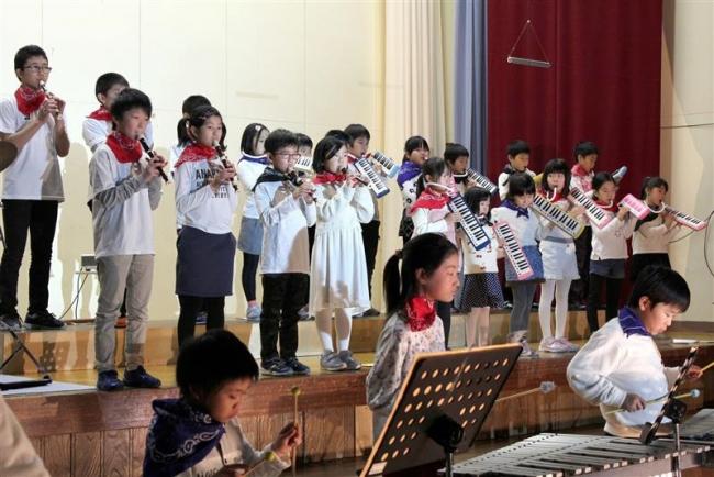 広野小で北海道命名150年にちなみ、ドリカムと松山千春の名曲