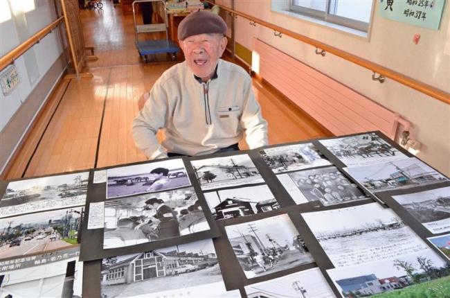 大樹の今昔 写真で 93歳大石さん30日から展示