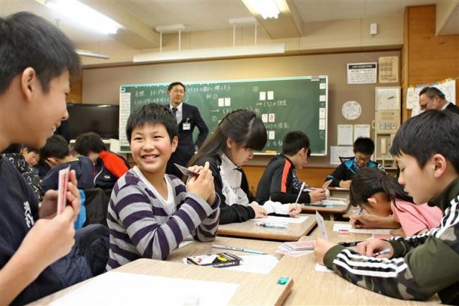 中学教諭が士幌小で公開授業