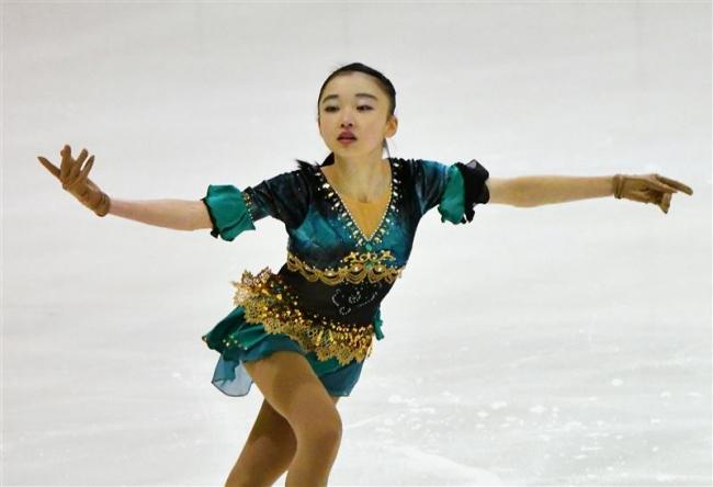 古田、足澤、岩野らフリーに進出 道高校・国体予選フィギュア