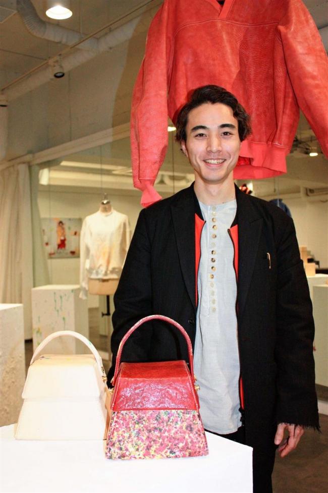 就労継続支援施設カエルの阿部さん 十勝発のファッションブランド