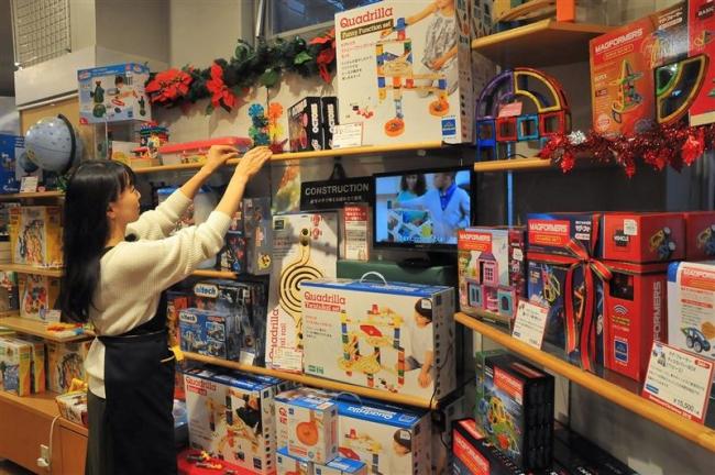 ゲーム機や本、人気根強く クリスマス商戦本格化