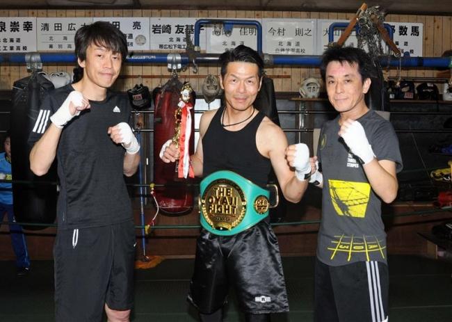 ボクシング千葉晃二が道王者 ザ・おやじファイト札幌大会