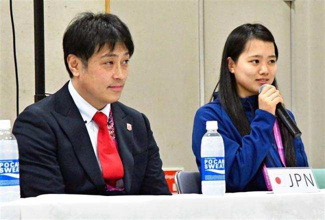 志賀主将「決勝T進出を」女子U18アイホケ世界選手権各国会見