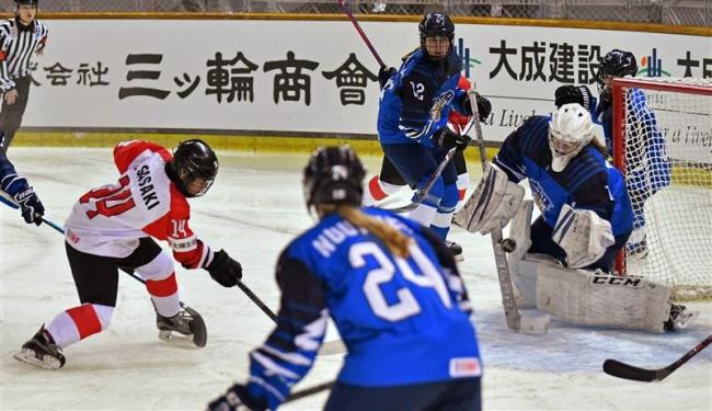 日本初戦惜敗も堅守発揮 U18女子アイホケ世界選手権