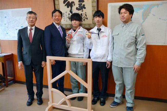 技能五輪銅賞の安久津君、8月世界大会出場へ 十勝勢では10年ぶり