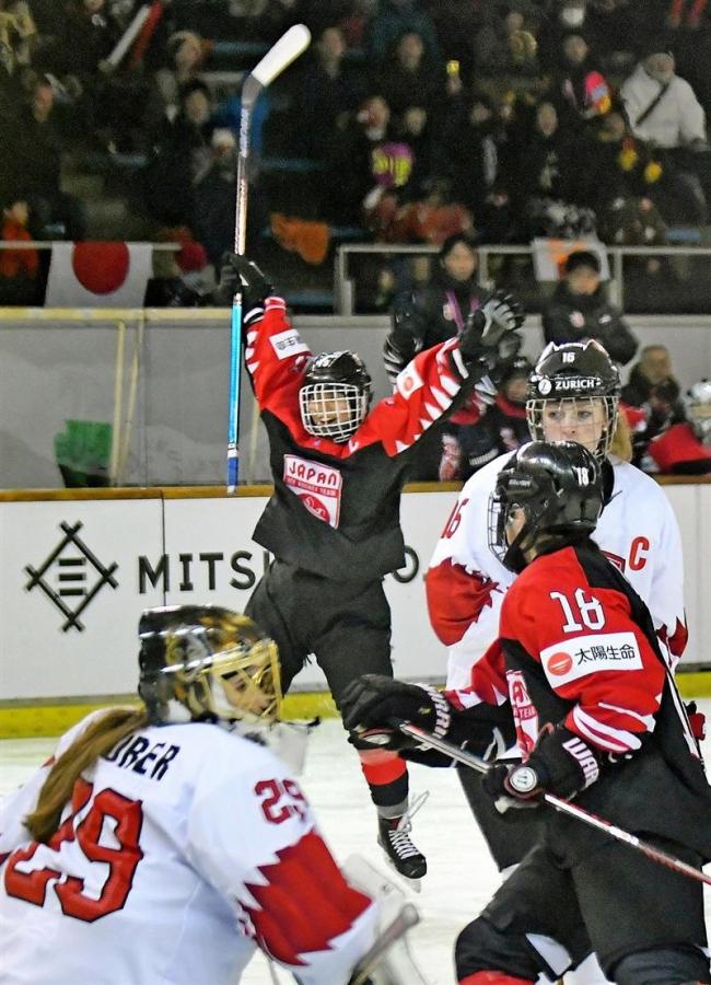日本残留戦に決意 女子U18アイスホッケー世界選手権