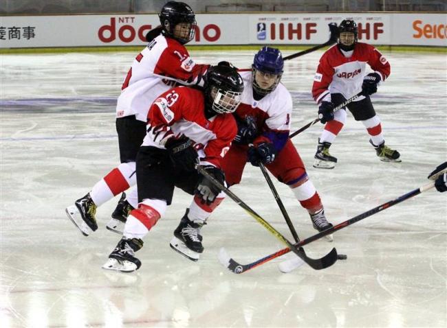 日本残留戦初戦で完封負け、女子U18アイスホッケー世界選手権