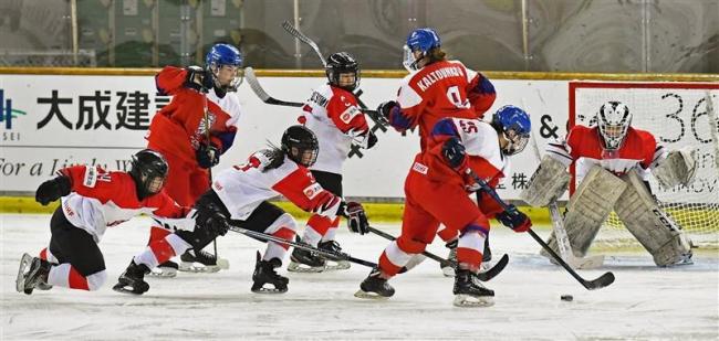 日本残留瀬戸際も「勝ちにいく」 U18女子アイホケ世界選手権