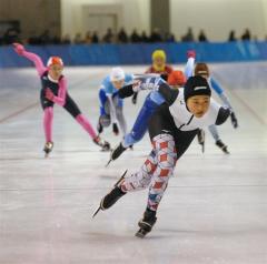 6年女子今井、男子は吉田総合V 全十勝児童スケート大会