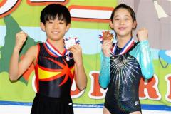 トランポリンジャパンオープン赤石準優勝、野原3位