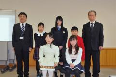 とかちジュニア文芸 優秀賞に坪さん、野村さん