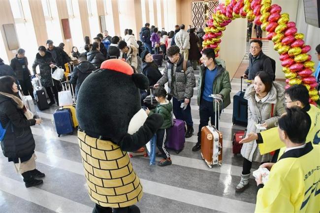 中国からの国際チャーター便が到着 とかち帯広空港