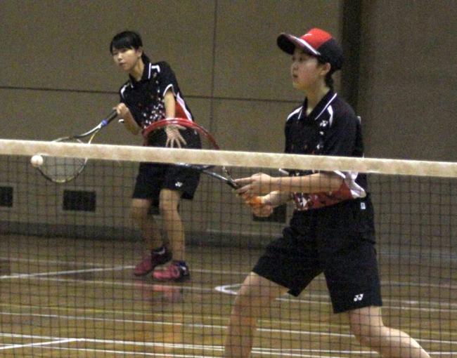 横内・長屋組V 全十勝室内ソフトテニスB級女子
