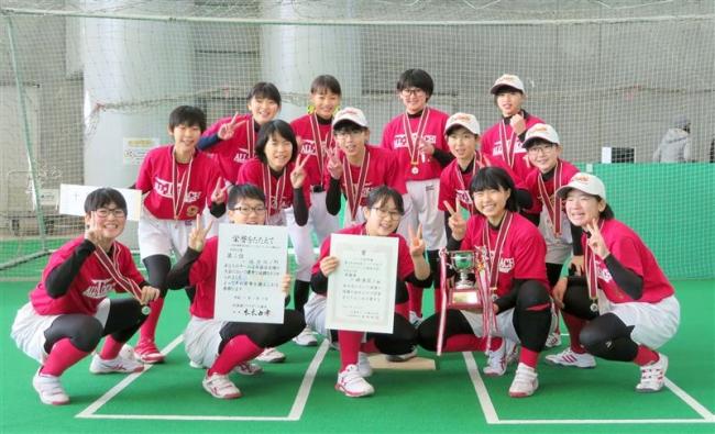 十勝選抜S堂々の準優勝 全道ジュニア女子ソフトボール大会