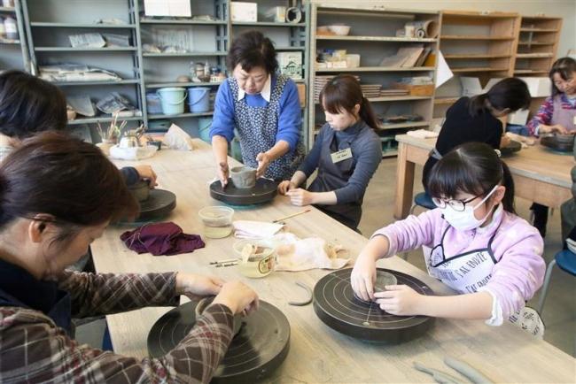 幕別で陶芸教室スタート