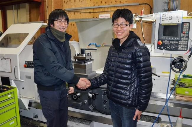 大樹高の中村さん「将来はISTへ」 室工大合格で夢へ前進