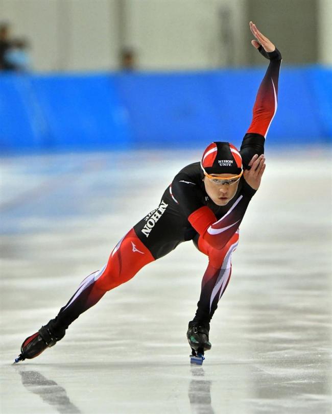 松井初V、辻本2位、女子は藤井2位 道スプリントスケート選手権