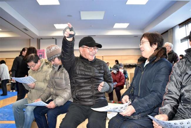 要援護者との意見交換も 芽室で冬の避難体験