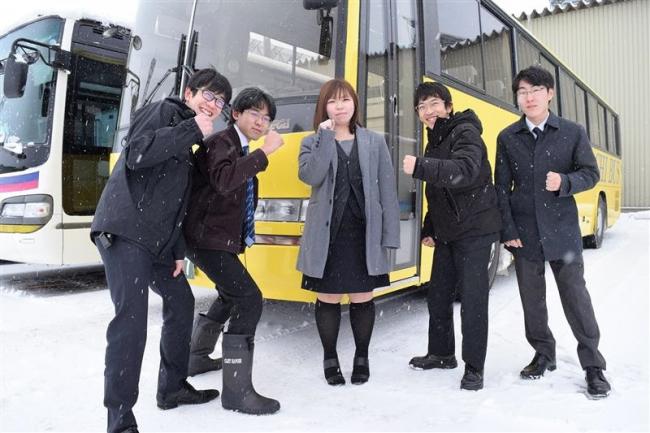 十勝バスが運転手を自前養成 5人が大型2種免許取得へ