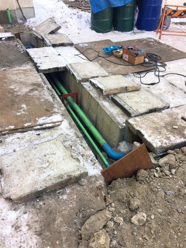 清川中の灯油タンク配管に亀裂 最大3000リットル流出