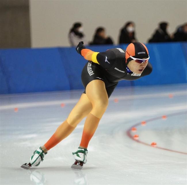蟻戸2連覇、山田2位男子3000メートル 全国高校選抜スケート開幕