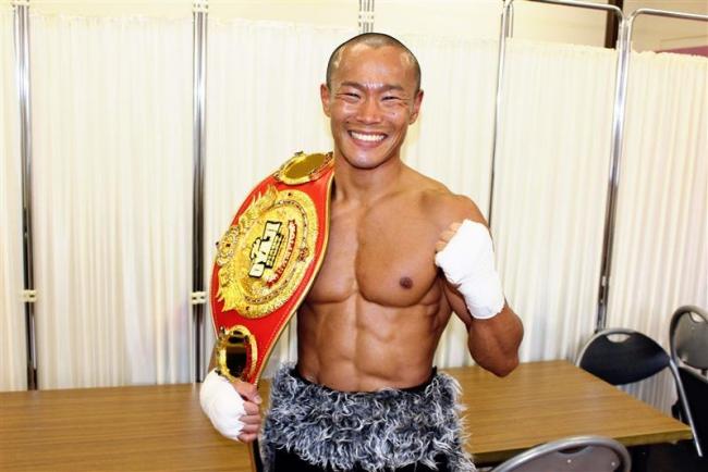陸別出身の吉田ARMY真選手、OYAJIファイトのR30バンタム級関東王座に