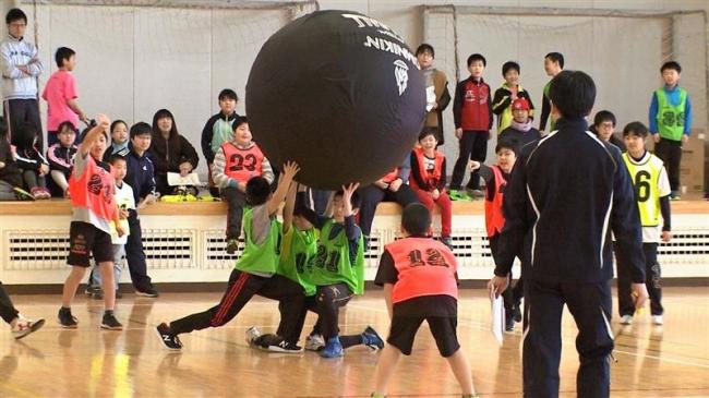 本別でスポーツ少年団交歓大会