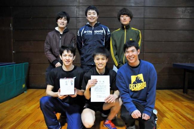 T・ALLIANCE男子1部初優勝、全十勝社会人クラブ対抗卓球