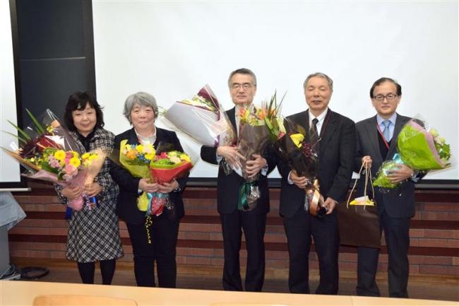 帯広畜産大で退官5教授が最終講義 研究成果や教員生活を振り返る
