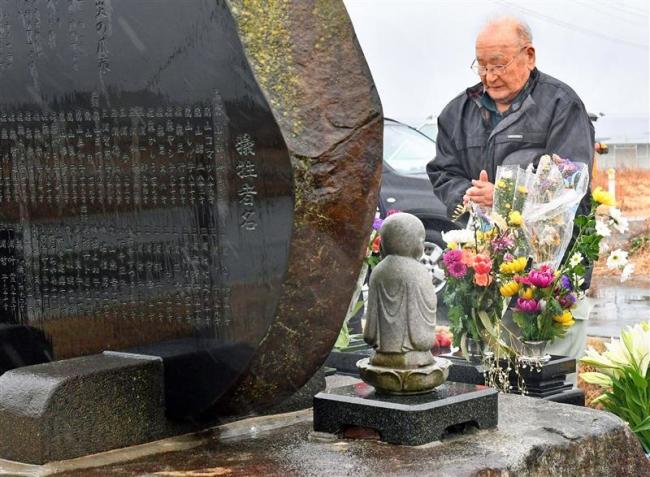 東日本大震災から8年目の朝 気仙沼市で祈り
