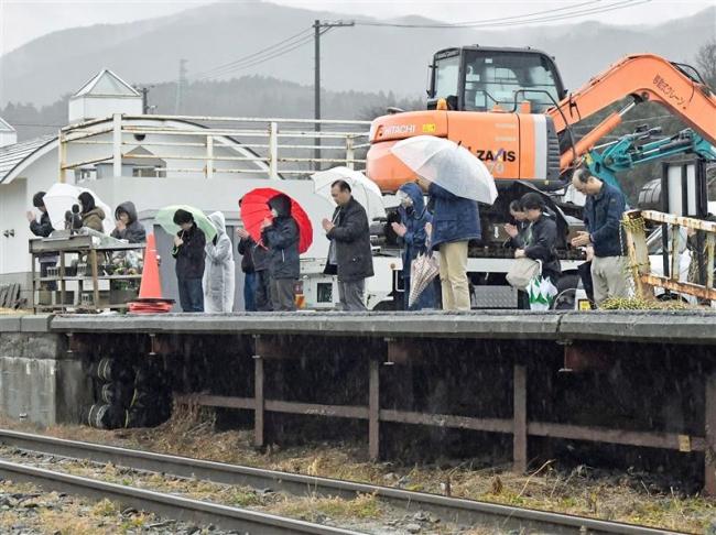 東日本大震災発生から8年 被災地気仙沼でも鎮魂の祈り