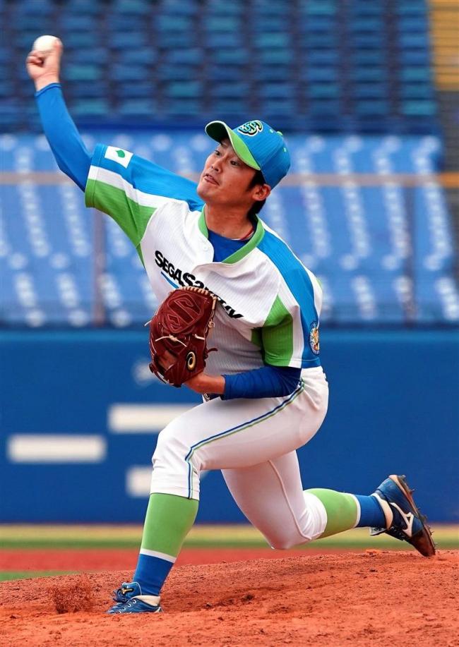 池田町出身の陶久好投2イニング無失点 社会人硬式野球東京スポニチ大会