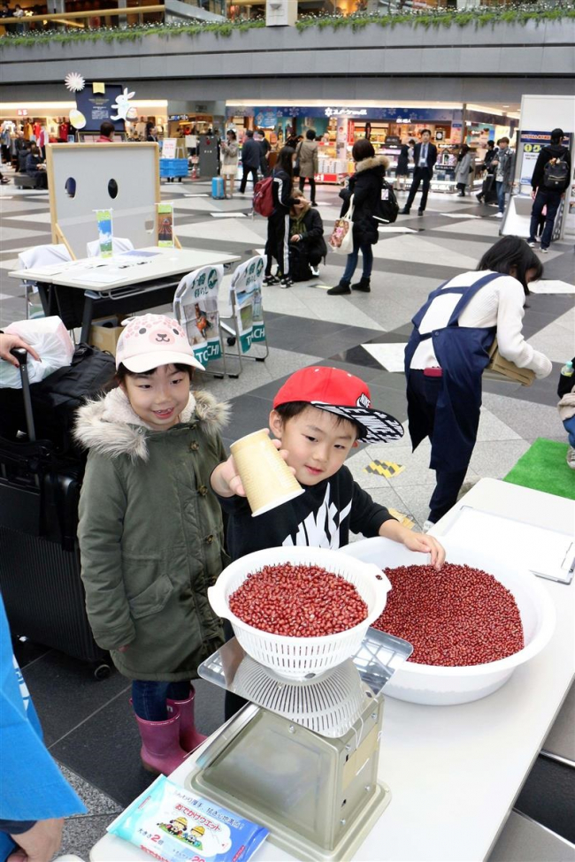 新千歳空港で十勝清水農畜産物フェア初開催