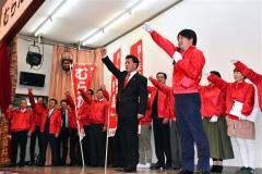 村田氏が総決起集会 道議選市区 5