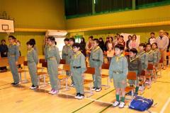 6人が巣立ち トムラウシ少年クラブ退団式