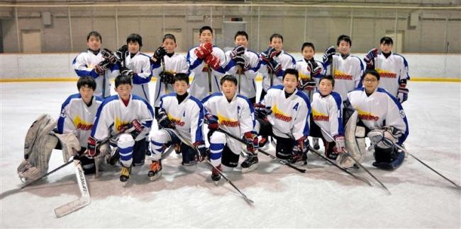 小学生、中学生帯広選抜V狙う 全日本少年アイスホッケー大会